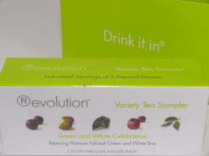 Revolution Tee - Green and White Celebration (5er Set)