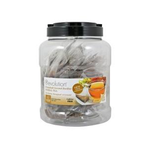 AKTION Revolution Tee - Honeybush Caramel Tea - 60 Teebeutel Großpackung - koffeinfrei