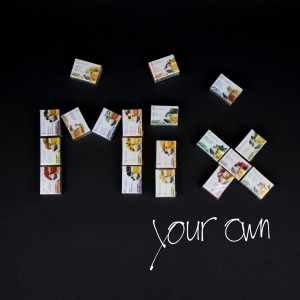 "Revolution Tee - ""mix your own revolution"""