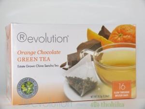 MHD 02/2017 Revolution Tee - Orange Chocolate Green Tea