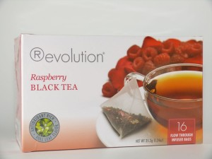 MHD 06/2016 Revolution Tee - Raspberry Black Tea - mit Himbeeraroma