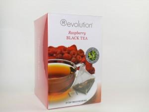 """MHD 07/2016 - Revolution Tee - Raspberry Black Tea - mit Himbeeraroma - Gastro """"foliert"""""""