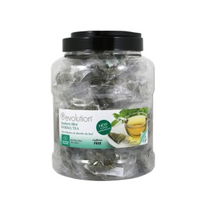 AKTION Revolution Tee - Southern Mint Herbal Tea - 60 Teebeutel Großpackung - koffeinfrei