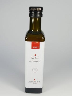 Rapsöl kaltgepresst für die heiße Küche, 250 Milliliter