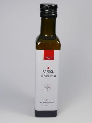 Rapsöl kaltgepresst für die kalte Küche, 250 Milliliter