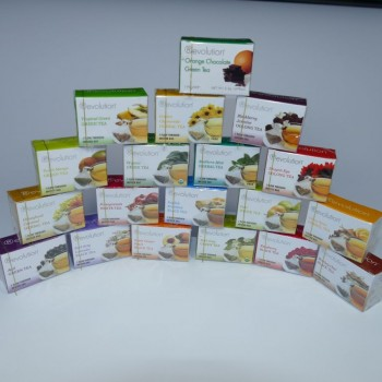 Adventskalenderbefüllung Revolution Tea & Monbana Chocolate