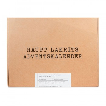 Haupt Lakritz, Limited Edition - Adventskalender 2021