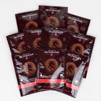 MONBANA-Trinkschokolade - Sorte Trésor de Chocolat - 100er Karton
