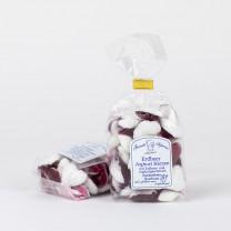 Erdbeer Joghurt Herzen, zuckerfreie Bonbons in Herzform