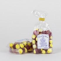 Erdbeer-Vanille-Bonbons, zuckerfreie Bonbons