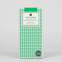 LOVE COCOA - 70 % - Gin & Tonic Edelbitter Schokolade, organic, vegan