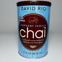 David Rio Chai - Elephant Vanilla, Pappwickeldose