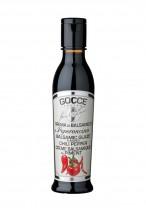 Balsamicocreme mit Chili und Pfeffer aromatisiert, al Peeroncino