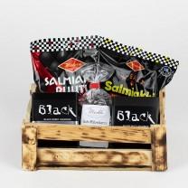 thokika Lakritz-Geschenk-Holzbox / Lakritz - Set No.9