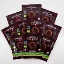 MHD 08-2020 / MONBANA-Trinkschokolade - BIO & Fairtraide - 10er Set