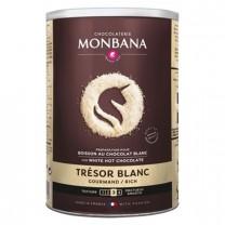 MONBANA - Trésor Blanc - 500 Gramm - weiße Trinkschokolade