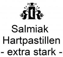 thokika Salmiak Hartpastillen - extra stark-