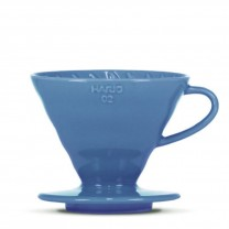 "HARIO V60 Dripper ""Colour Edition"" turquise blue (VDC-02-TKB-BB)"