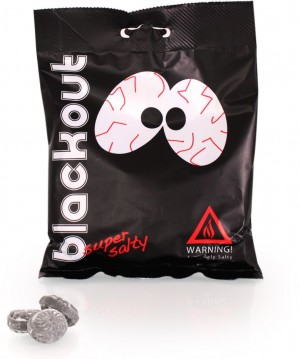 blackout - super salty - extreme licorice candy - Salzlakritz