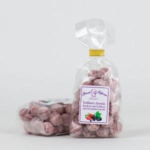 Erdbeer-Aronia-Bonbons mit Fruchtsaft