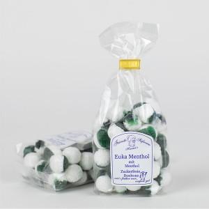 Euka-Menthol-Bonbons, zuckerfreie Bonbons