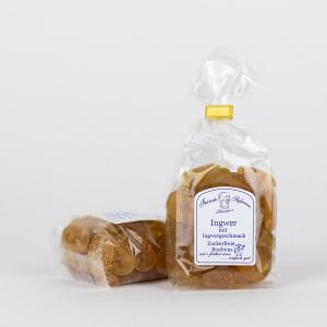 Ingwer-Bonbons, zuckerfreie Bonbons