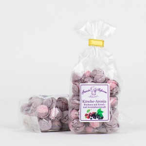 Kirsch-Aronia-Bonbons mit Fruchtsaft