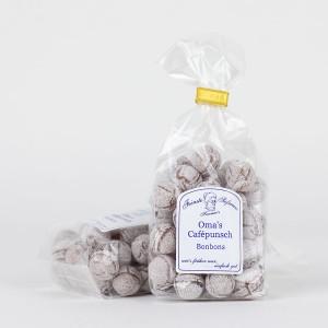Oma´s Cafépunsch Bonbons, Bonbons mit Eierlikörgeschmack