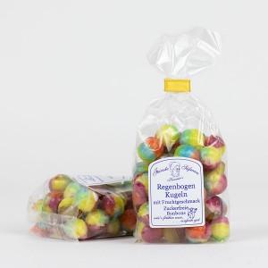 Regenbogen Kugeln -zuckerfreie Bonbons