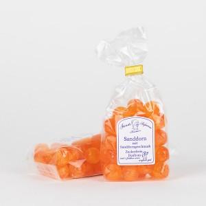 Sanddorn-Bonbons, zuckerfreie Bonbons