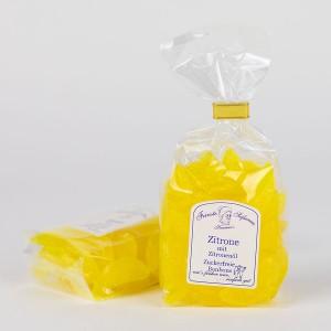 Zitronen-Bonbons mit Zitronenöl, zuckerfreie Bonbons