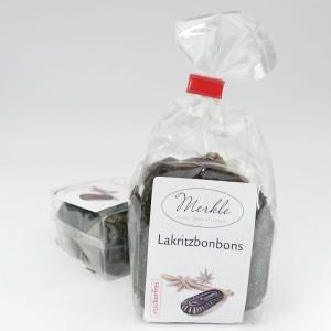 - zuckerfrei - Lakritzbonbons