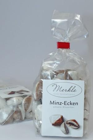 Minz-Ecken, gefüllte Bonbonkissen