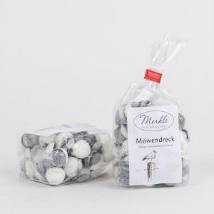 Möwendreck, kräftige Lakritz-Bonbons mit Minze