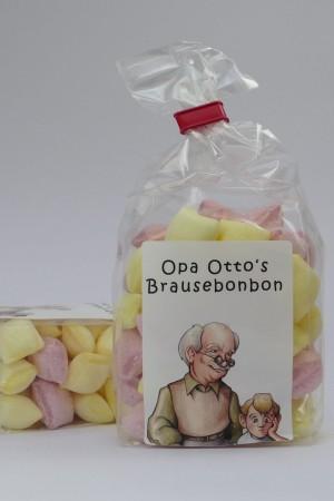 Brausebonbons - Opa Otto´s Brausebonbon