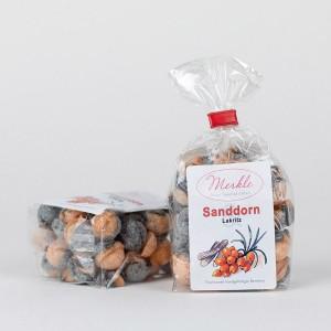 Sanddorn-Lakritz-Bonbons