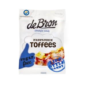 deBron zuckerfrei, Fruchtsaft Toffees
