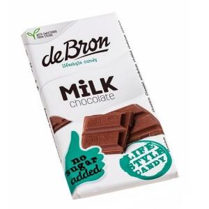 deBron Vollmilchschokolade ohne Zuckerzusatz