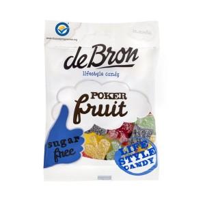 deBron zuckerfrei, saures Fruchtgummi