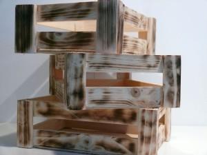 """3 x Holzkisten """"DIN A5"""" - Dekoartikel - Geschenkverpackung"""