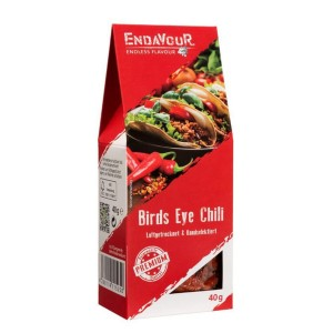 Birds Eye Chili, ganz, 1-3 cm, Endavour
