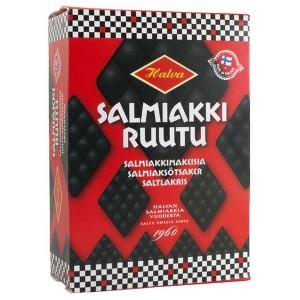 Salmiakki Ruutu, Halva Salmiak-Rauten aus Finnland, 250 Gramm