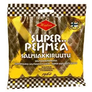 MHD 03-2021 / Halva Super Soft Salmiakki Ruutu - VEGAN