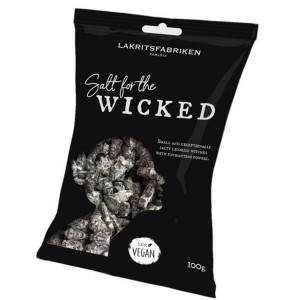 Lakritsfabriken - salt for the wicked, extra stark, Erwachsenenlakritz