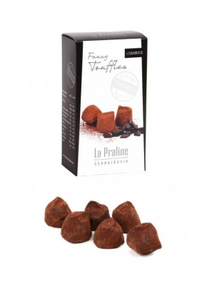 La Praline, Schokoladentrüffel mit Lakritz