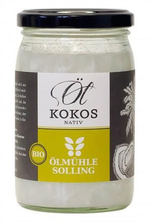 Kokosöl 0,25 Liter - Ölmühle Solling, BIO