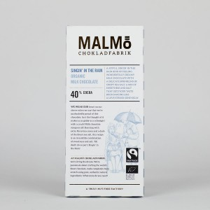 MALMÖ - 40 % - Vollmilch Schokolade, organic & fairtrade