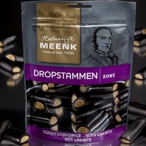 225 Gramm Meenk Dropstammen zoet, süßes Lakritz von Meenk