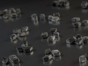 100 Gramm Salmiakpastillen von Meenk, Lakritzpastillen
