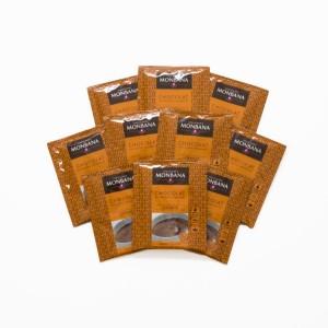 MONBANA-Trinkschokolade - Sorte Orange - 10er Set